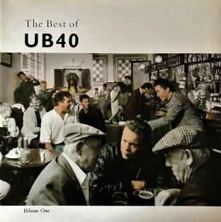 UB40 - The Best Of UB40 Volume One (LP) (VG/VG+)
